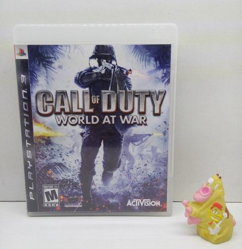 call of duty world at war ps3 garantizado!!