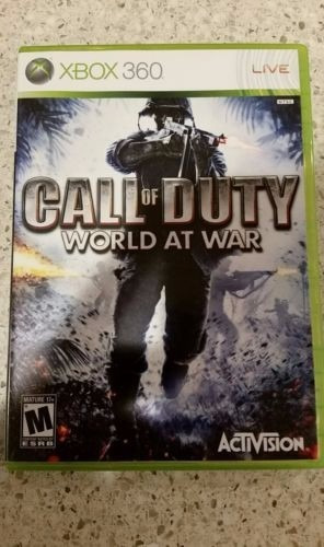 call of duty world at war xbox 360 envio gratis