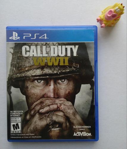 call of duty world war ii ww2 play station ps4