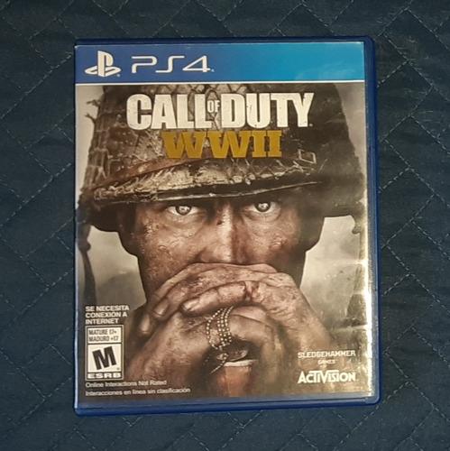 call of duty ww2 ps4 fisico