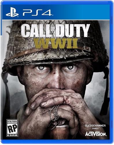 call of duty ww2 - ps4 fisico usado