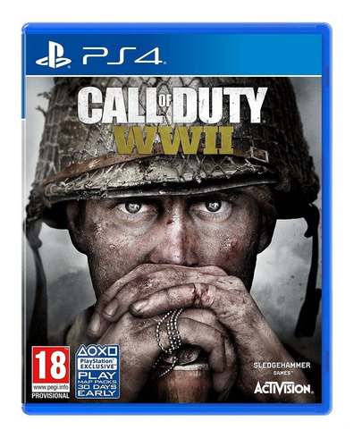 call of duty: wwii - ps4 - físico