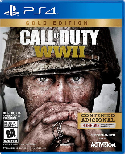 call of duty wwii ps4 gold edition disponible