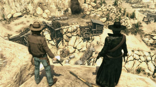 call of juarez bound in blood - xbox 360