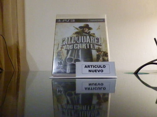 call of juarez: the cartel - fisico - playstation 3