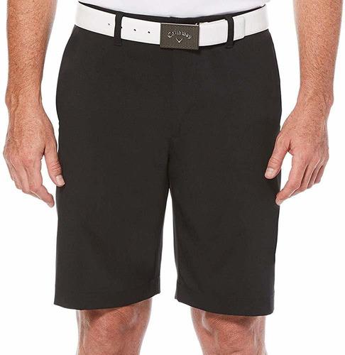 callaway opti-stretch front solid - pantalones cortos par