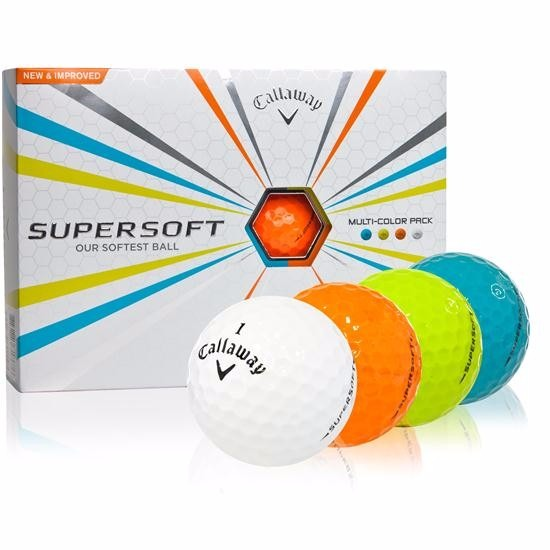 d956ab8f03115 Callaway Super Soft Multi-color Docena De Pelotas Para Golf ...