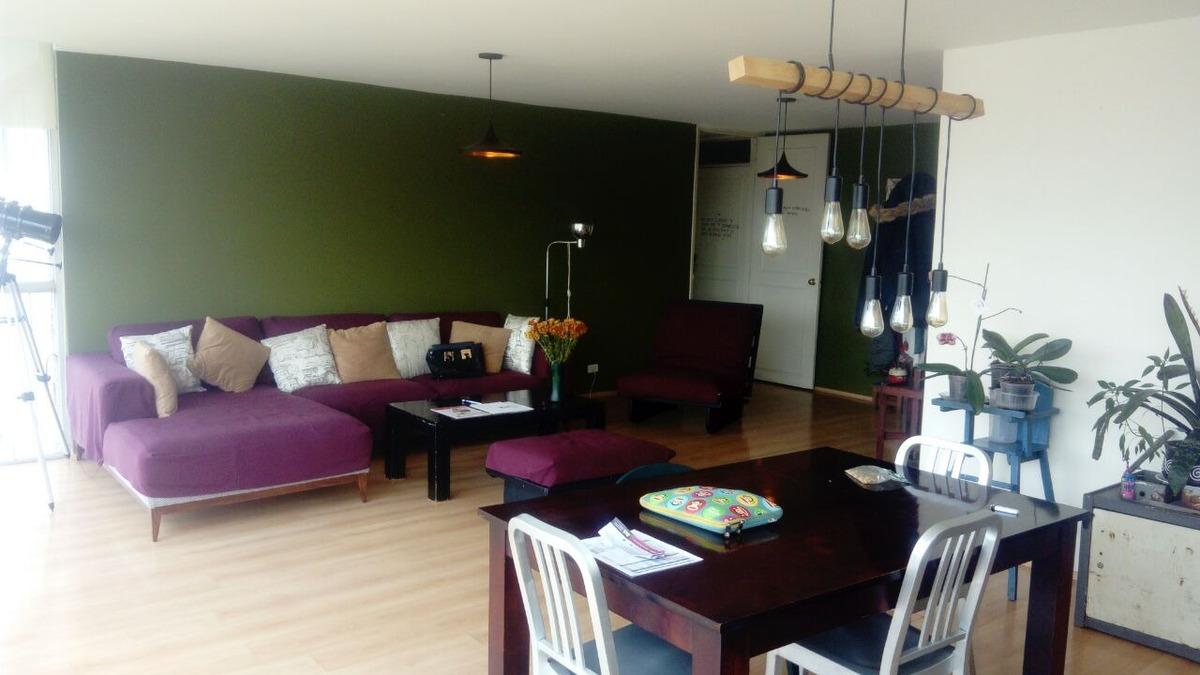 calle colima, roma norte. amplio departamento en venta.