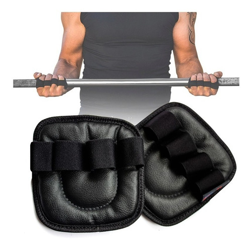 callera guantes cuero gym pesas crossfit deportes fitness