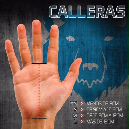 calleras / cayeras crossfit - gimnasia - guantes gym