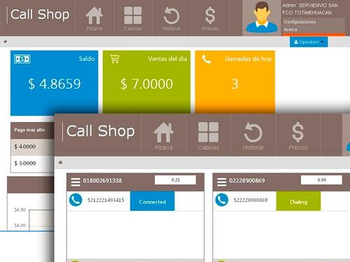 callshop - tarificador voip para casetas telefónicas
