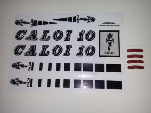 caloi 10 1976 selos do quadro caloi adesivo bicicleta antiga