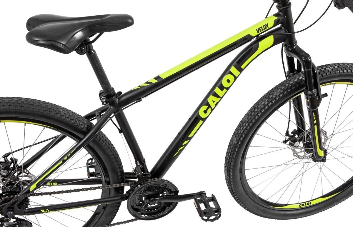 d6e480fec Carregando zoom... bicicleta mtb caloi velox aro 29 susp dianteira 21  marchas