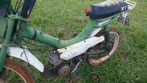 caloi mobilete caloi  cx 50cc baixada no detran p/ decoração