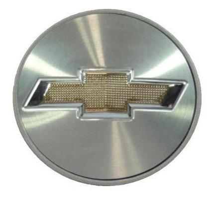 calota calotinha miolo centro roda 51mm gm dourado relevo