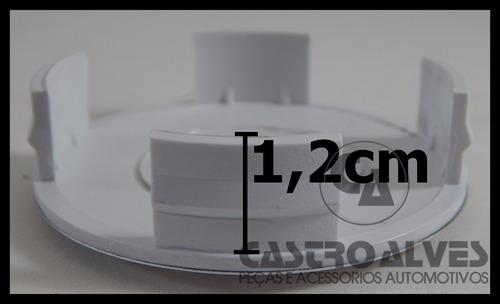 calota calotinha tampa miolo centro roda vaska kromma 6cm