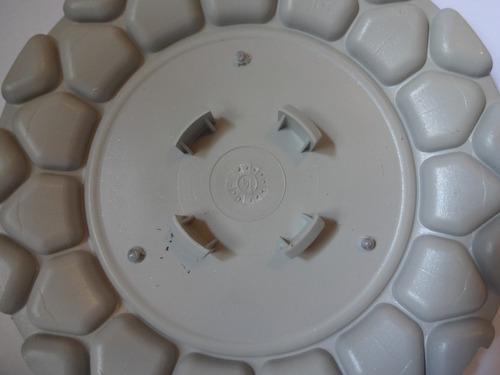 calota centro miolo roda big brw900 bbs aros 15/17/18 preta