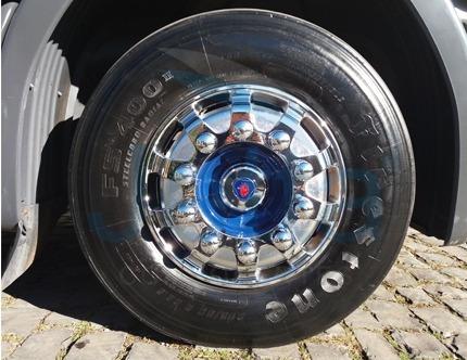 calota dianteira speedline racetruck 22,5 caminhão jetta