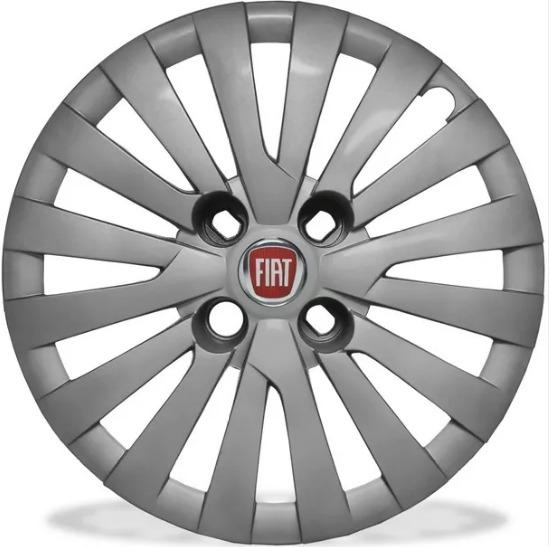 Calota Jogo 4ps Punto Grand Siena Idea Aro 15 Fiat G242jv