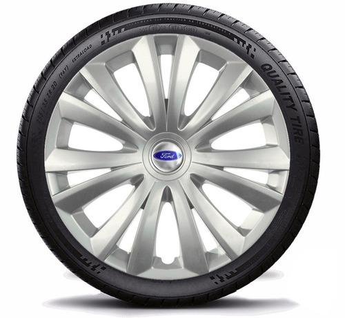 calota jogo aro 14 ford focus hatch sedan 2007 - 4 peças