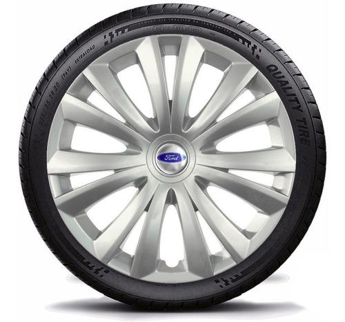 calota jogo aro 14 novo ford ka hatch sedan 2015 grid136 pta