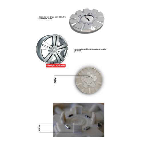 calota miolo de roda kromma kr1410 aro 14 15 17