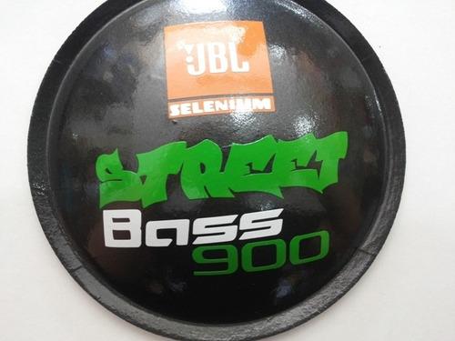 calota protetor p/ jbl selenium streetbass 900 135mm + cola