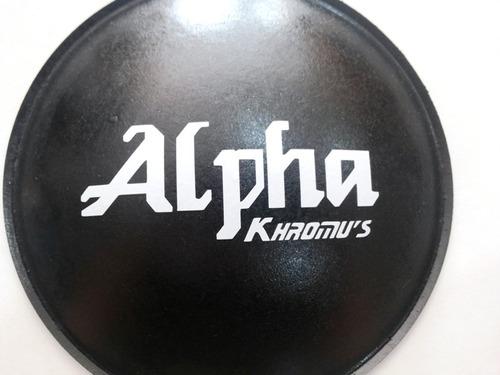 calota protetor para alto falante alpha kronus 160mm + cola