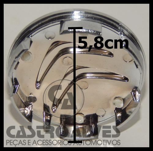 calota tampa central roda citroen c3 c4 tendance prata =1 pç