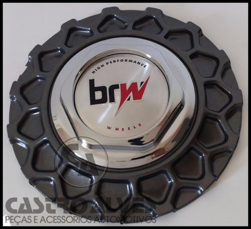 calota tampa miolo roda aro 17 bbs brw 900 grafite - 1 pç