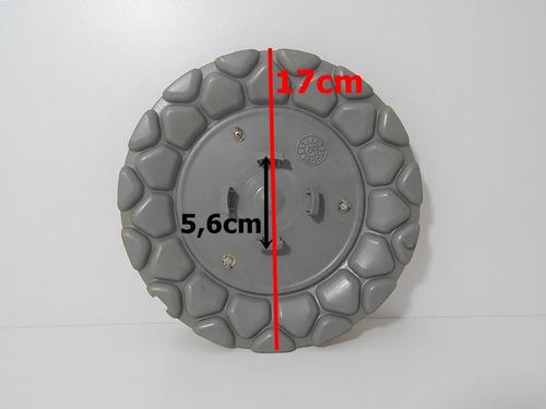 calota tampa miolo roda aro 18 bbs brw 900 grafite - 1 pç