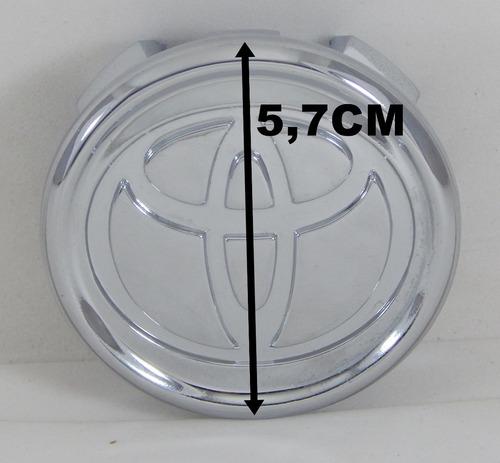 calota tampa roda liga toyota corolla 2004 a 2005 cromada