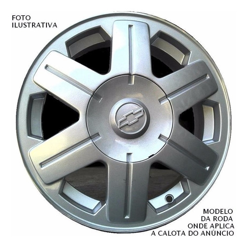 calota tampa roda montana e corsa novo original gm 93280919