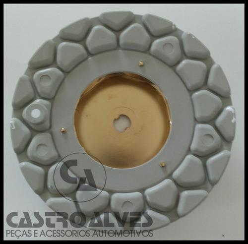 calotinha calota tampa central roda aro 15 bbs zunky branco