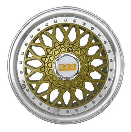 calotinha central roda bbs zunky zk370 dourada aro 14 15 17
