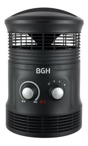 caloventor bgh - fan heater - 1800w negro