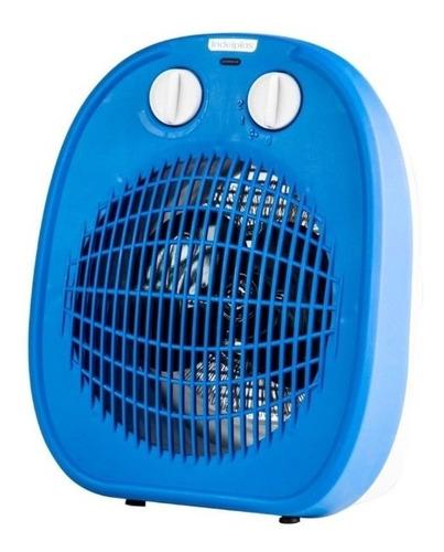 caloventor indelplas azul/naranja - aj hogar