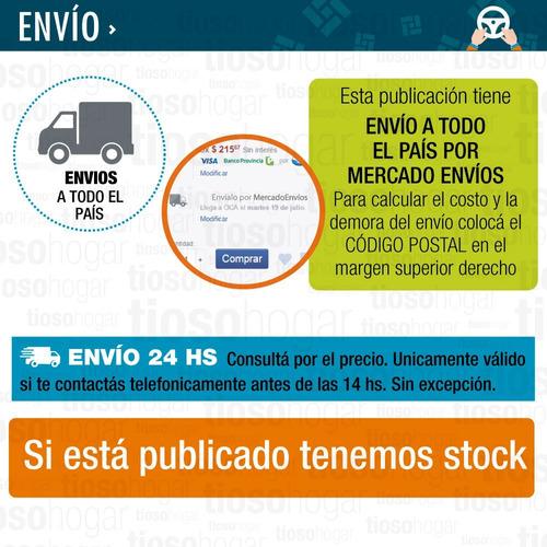 caloventor portatil electrico star trak 2000w 2 niveles bajo