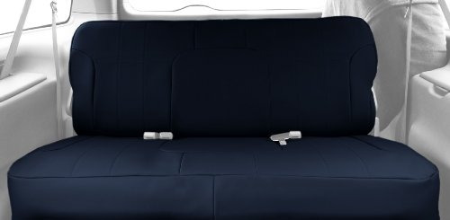 caltrend rear row solid bench custom seat cover para cier