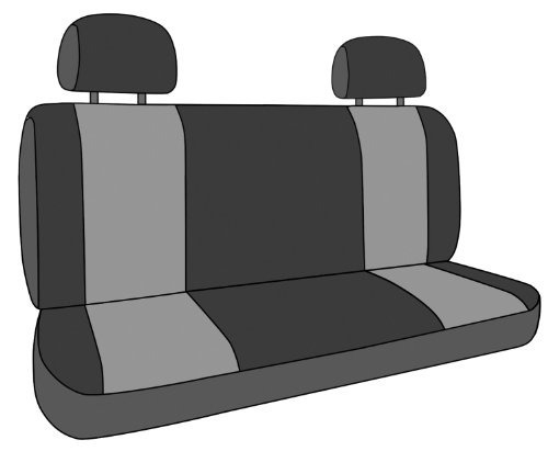 caltrend rear row solid bench  funda de asiento de ajuste