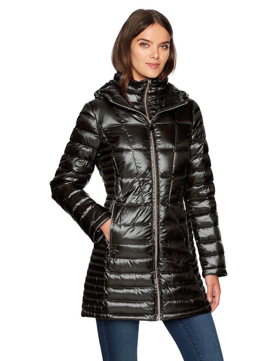 5b99097877f01 Calvin Klein Abrigo Largo Plumón De Mujer Apilable