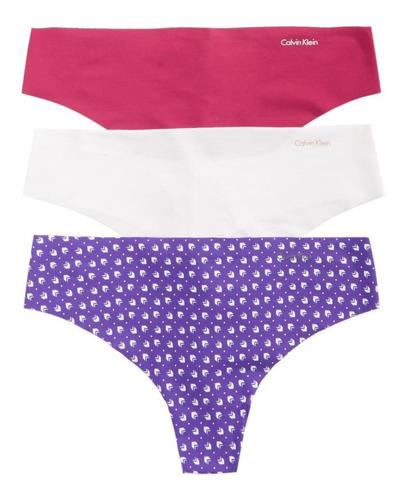 calvin klein bombacha  tangas cola less invisible underwear