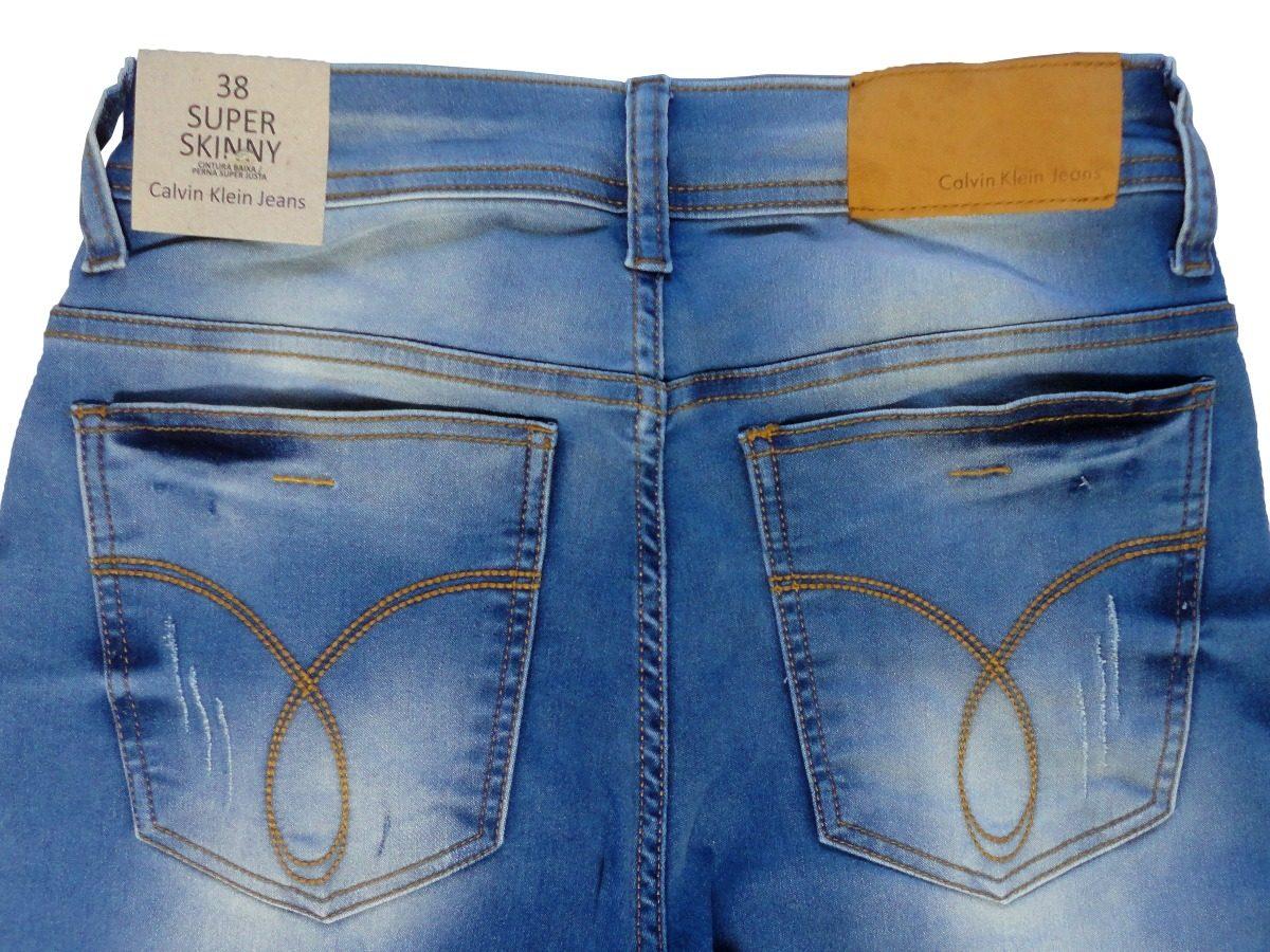 Carregando zoom... calça jeans masculina calvin klein stretch slim fit  original b39c9d2173