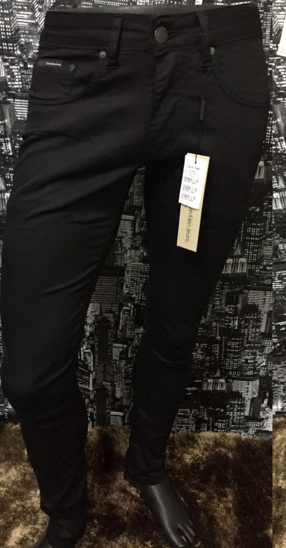 9b7a8e43c5959 Calça Jeans Masculina, Calvin Klein Ckj, Original! Slim! Top - R ...