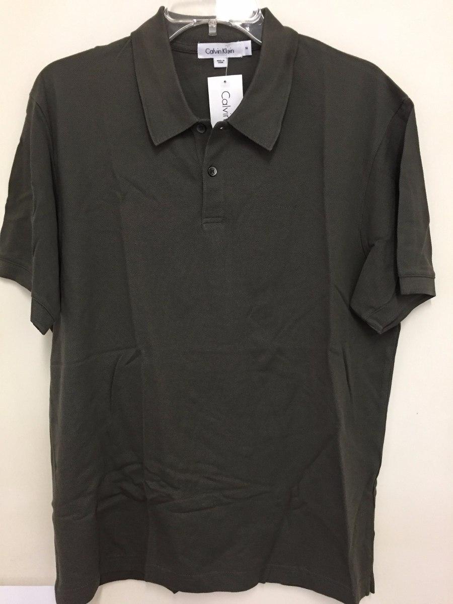 f216741fdb Calvin Klein   Camisa Polo Masculina M - R  149