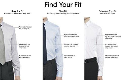 Cuff Klein Vestir De Cami Para Camisas Calvin Hombres French 5j34RALq