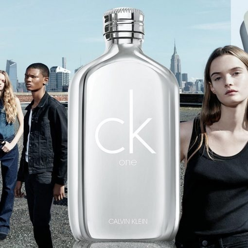 7ece336627648 Calvin Klein Ck One Platinum Edition Unissex Edt  100ml - R  299