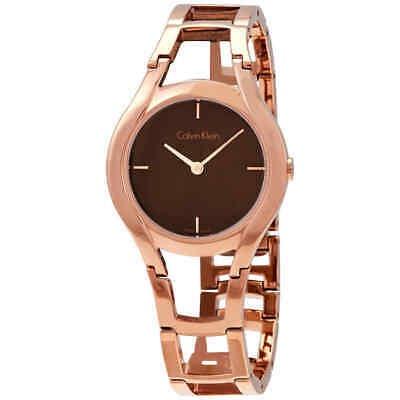 52240f01b4c0 Calvin Klein Class Brown Dial - Reloj Para Mujer En Tono Do ...