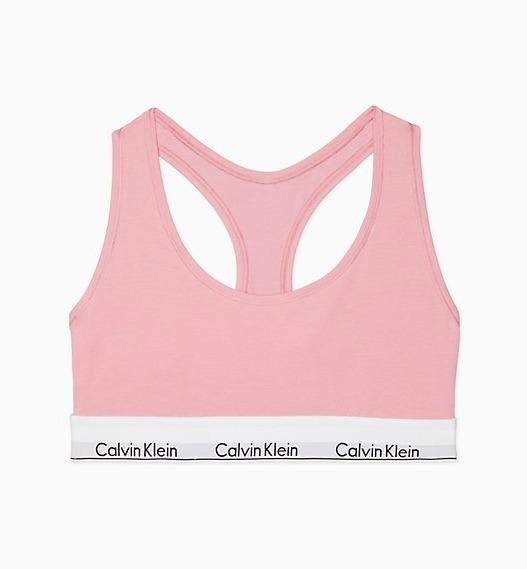 241d88ef0f2eeb Calvin Klein Conjunto Lingerie Rosa Original Sutiã Calcinha