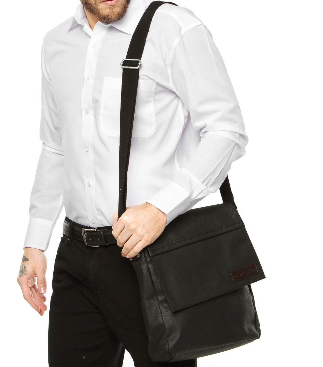 Bolsa De Couro Masculina Lateral : Bolsa masculina carteiro calvin klein transversal couro